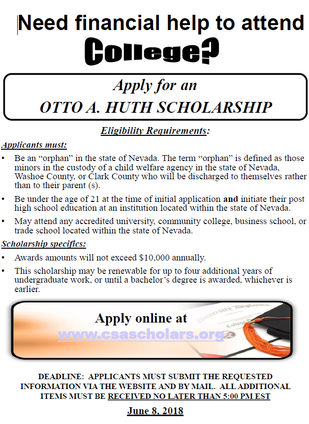 Otto A. Huth Scholarship Trust Fund
